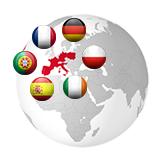 France, Allemagne, Espagne, Portugal, Italie,Belgique,Hollande